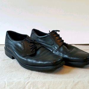 Ecco comfort dress shoes black lace up EU 41